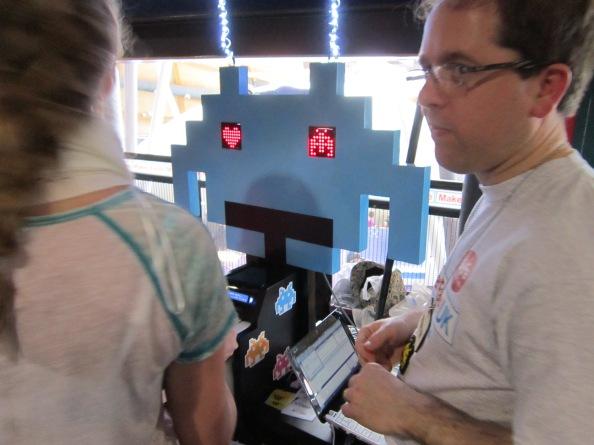 Alien Binary. Maker Faire 2014, Centre For Life, Newcastle